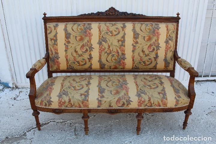 Antigüedades: sofa luis xv - Foto 4 - 101513151
