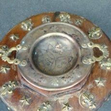 Antigüedades - ANTIGUO BRACERITO BASE MADERA - 101530402