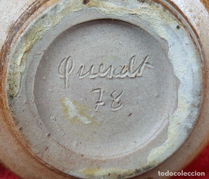 Antigüedades: JARRÓN. CERÁMICA CATALANA ESMALTADA. QUERALT. CIRCA 1970. - Foto 5 - 101541739