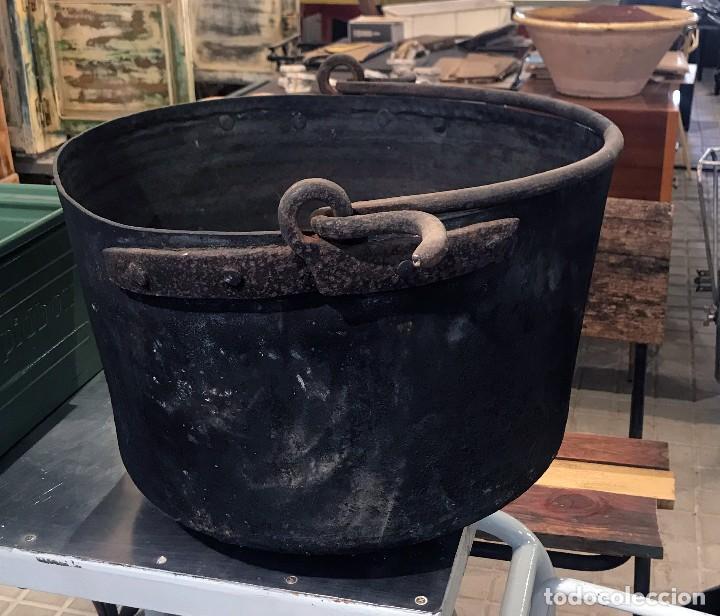 Antigüedades: Caldero de cobre - Foto 4 - 101547379