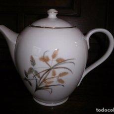 Antigüedades: CAFETERA O TETERA DE PORCELANA. Lote 101557135