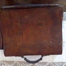 Antigüedades: CARTERA BOLSO MOCHILA F.COBAU BERLIN 1935 FABRICANTE ALEMAN CARTUCHERAS COLEGIO. Lote 101569359