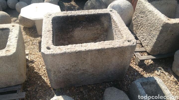 Antigua pila pilon de piedra de granito ideal p comprar utensilios del hogar antiguos en - Fuentes de piedra antiguas ...