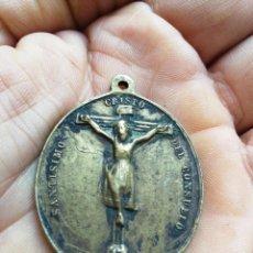 Antigüedades: CRISTO DEL CONSUELO Y VIRGEN DE LOS DESAMPARADOS. VILLANUEVA DE LA FUENTE . Lote 101592655