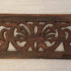 Antigüedades: PIEZA DECORATIVA EN MADERA – SIGLO XVIII. Lote 101602307