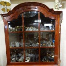 Antigüedades - MUEBLE CON VITRINA DE CEREZO.VINTAGE. - 101613903