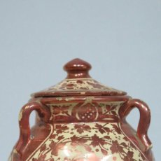 Antigüedades: BONITA OLLA DE REFLEJO METALICO. MANISES. LC. Lote 101621579