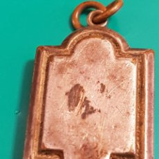 Antigüedades: RELICARIO ANTIGUO EN METAL PLATEADO. Lote 101623679