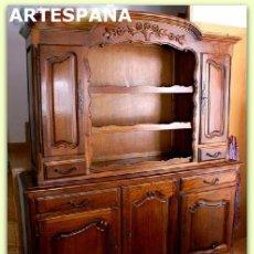Antigüedades: APARADOR DE ARTESPAÑA DE ROBLE AMERICANO DEL AÑO 1985-TIPO INGLÉS. Lote 101663503