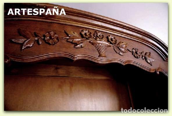 Antigüedades: ÚNICO, NO HAY DOS. APARADOR DE ARTESPAÑA DE ROBLE AMERICANO DEL AÑO 1985-TIPO INGLÉS - Foto 2 - 101663503
