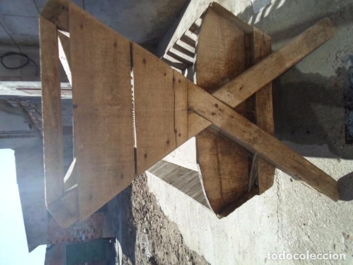 Antigüedades: comedero de madera ganaderia - Foto 4 - 101667923