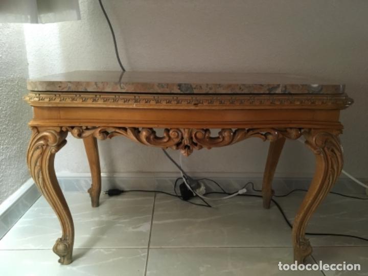 Mesa de centro estilo luis xv comprar mesas antiguas en for Mesas de centro antiguas