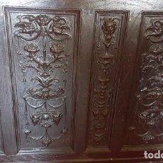 Antigüedades: FRISO. PLANCHA CON MOTIVO FLORENTINO DE FAUNOS Y FLORES.. Lote 101698519