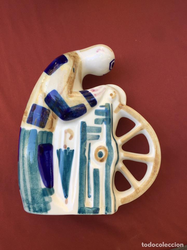 Antigüedades: Sargadelos afilador - Foto 2 - 101705600