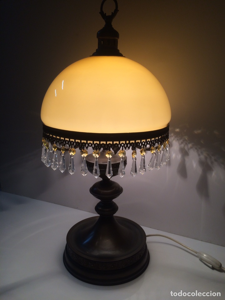 LAMPARA SOBREMESA (Antigüedades - Iluminación - Lámparas Antiguas)