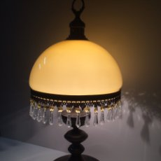 Antigüedades: LAMPARA SOBREMESA. Lote 101714114