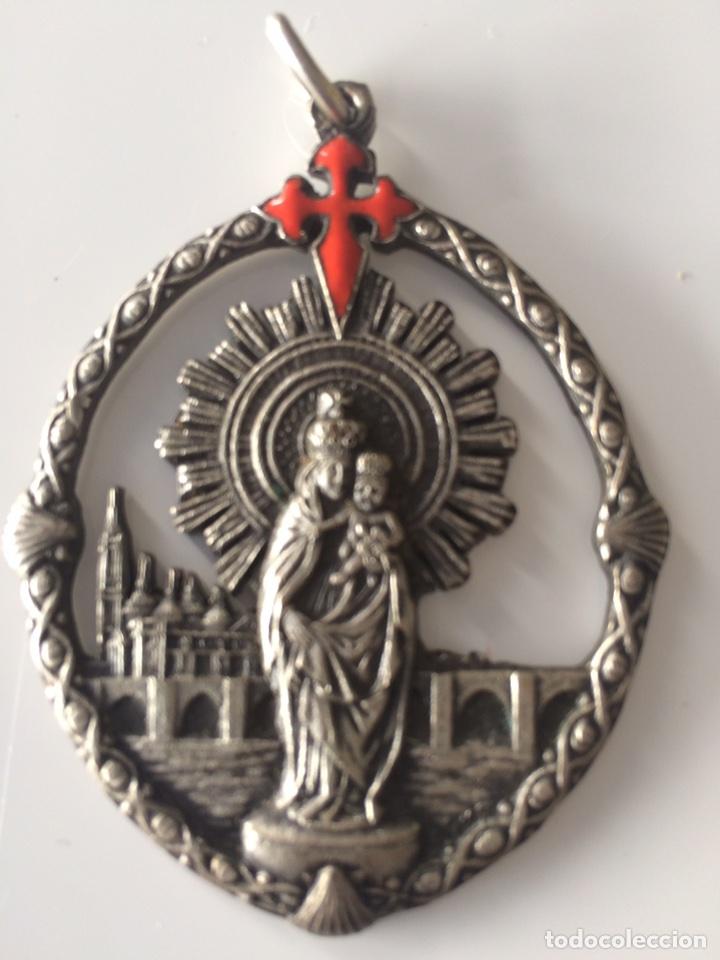 ANTIDUA MEDALLA 6'5X4'5CM (Antigüedades - Religiosas - Medallas Antiguas)