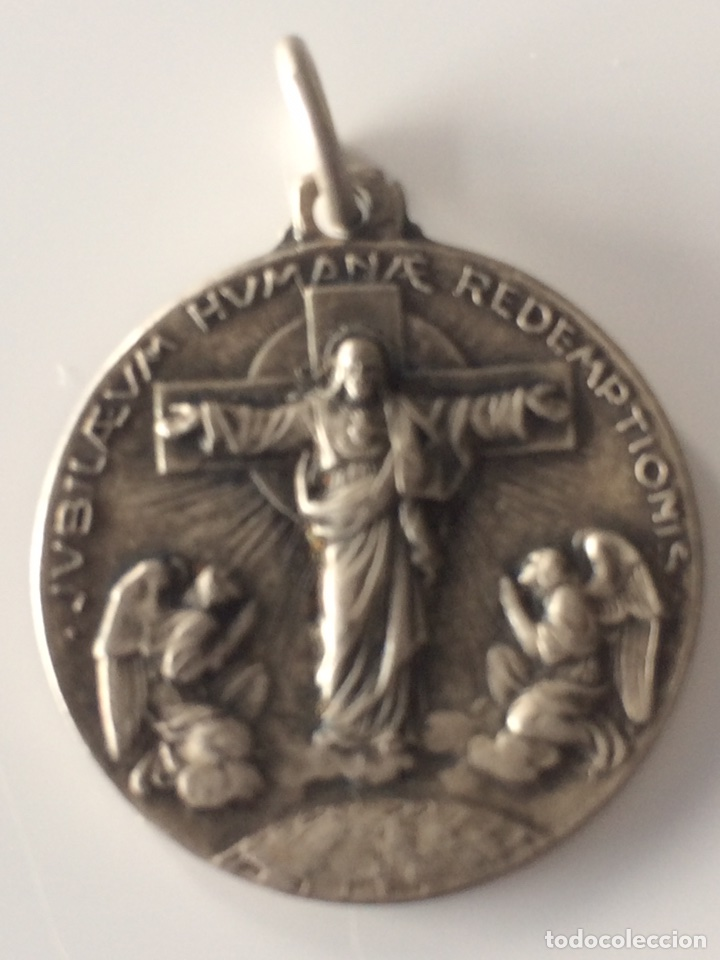 MEDALLA AÑO SANTO ROMA 1933 2'5X2'5CM (Antigüedades - Religiosas - Medallas Antiguas)