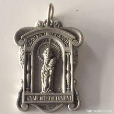 Antigüedades: MEDALLA DE DEU DE LA SALVT 4X2'5CM. Lote 101733140