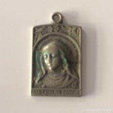 Antigüedades: MEDALLA SANTA CATALINA THOMAS 3X1'5CM. Lote 101733483