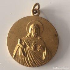 Antigüedades: MEDALLA SAGRADO CORAZÓN DE JESUS 3X2'5CM. Lote 101733620