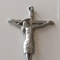 Antigüedades: COLGANTE CRUCIFIJO 6'5X4CM. Lote 101743778
