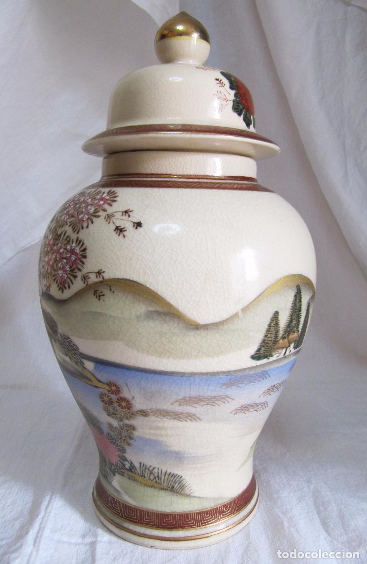 Antigüedades: PRECIOSO TIBOR JAPONES ANDREA BY SADEK - PROCEDENCIA JAPON - AÑOS 60 - JARRON - Foto 2 - 101772499
