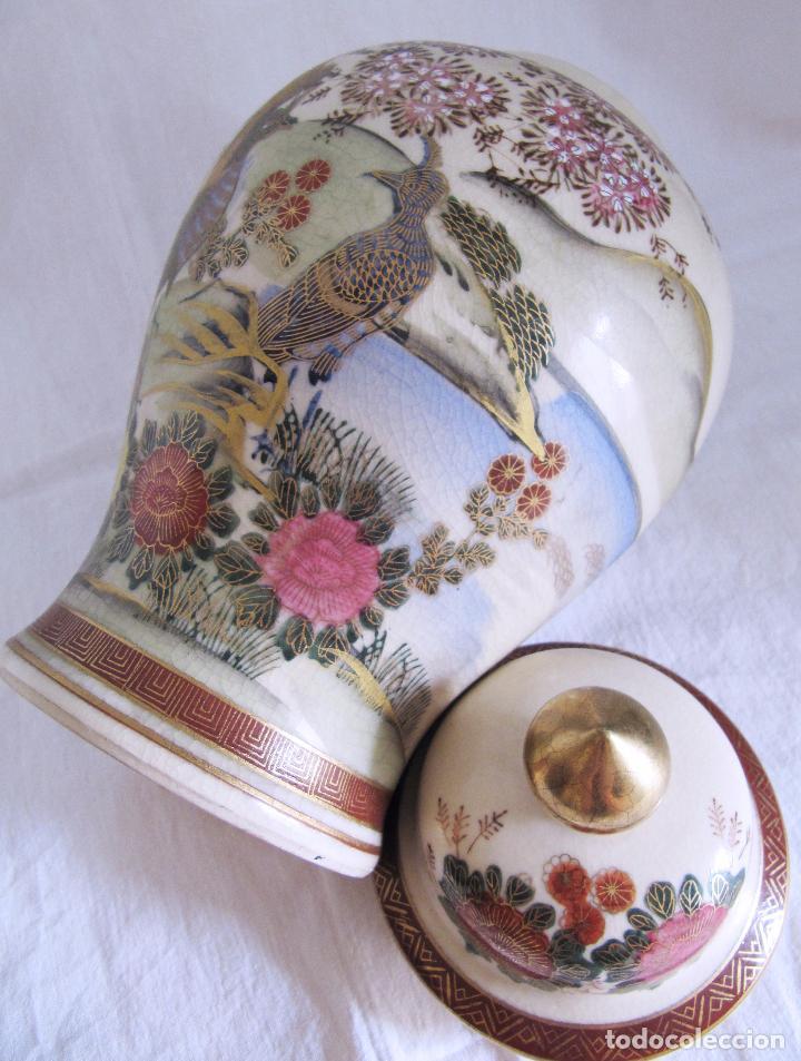 Antigüedades: PRECIOSO TIBOR JAPONES ANDREA BY SADEK - PROCEDENCIA JAPON - AÑOS 60 - JARRON - Foto 4 - 101772499