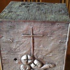 Antigüedades: SAGRARIO, COPON, PORTA VIRIL Y PORTA VELA SANTISIMO. Lote 101793015