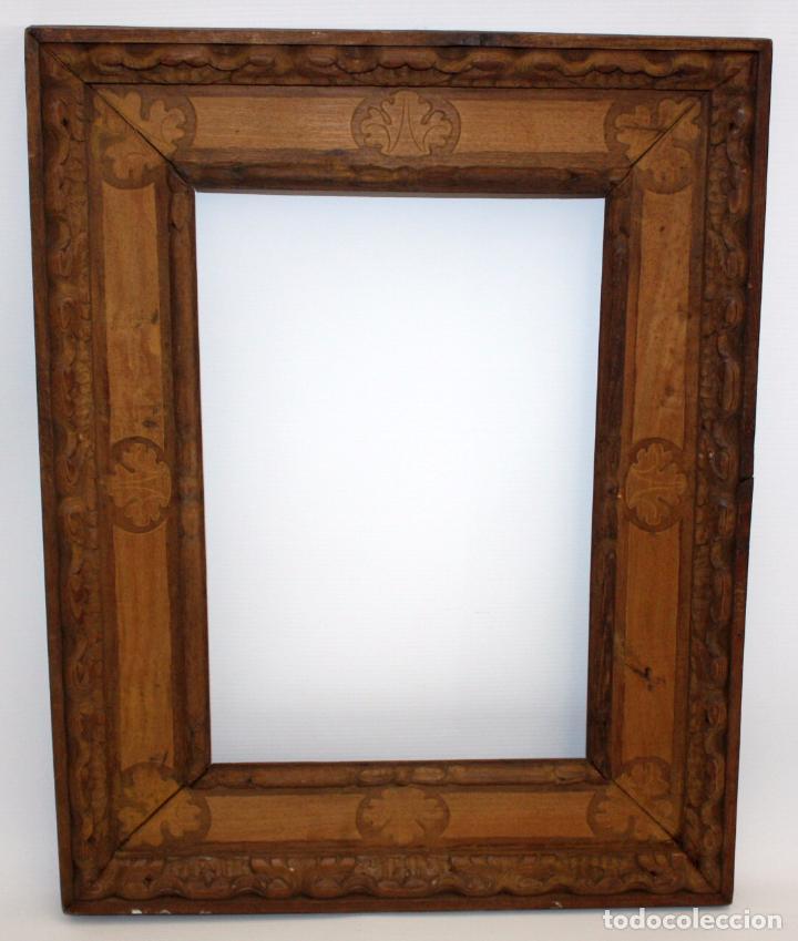 antiguo marco de epoca modernista en madera tal - Comprar Marcos ...