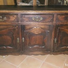 Antigüedades: APARADOR EN MADERA DE ROBLE.. Lote 101974399