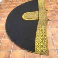 Antigüedades: CAPA PLUVIAL ANTIGUA. Lote 101975051