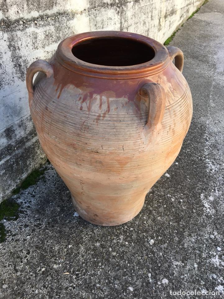 IMPORTANTE TINAJA DE BARRO (Antigüedades - Técnicas - Rústicas - Utensilios del Hogar)