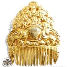 Antigüedades: PEINETA DE FALLERA PRIMERA MITAD DEL S.XX - 22,5 CM DE ALTA. Lote 102070663