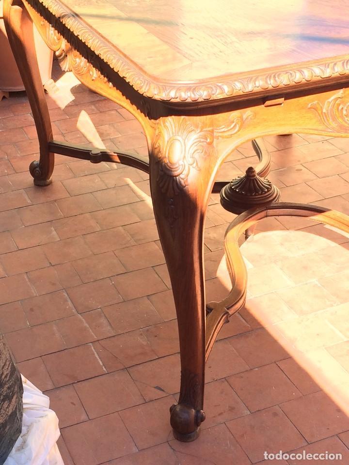 Antigüedades: MESA DE COMEDOR , PRINCIPIOS S.XX - Foto 3 - 102073147