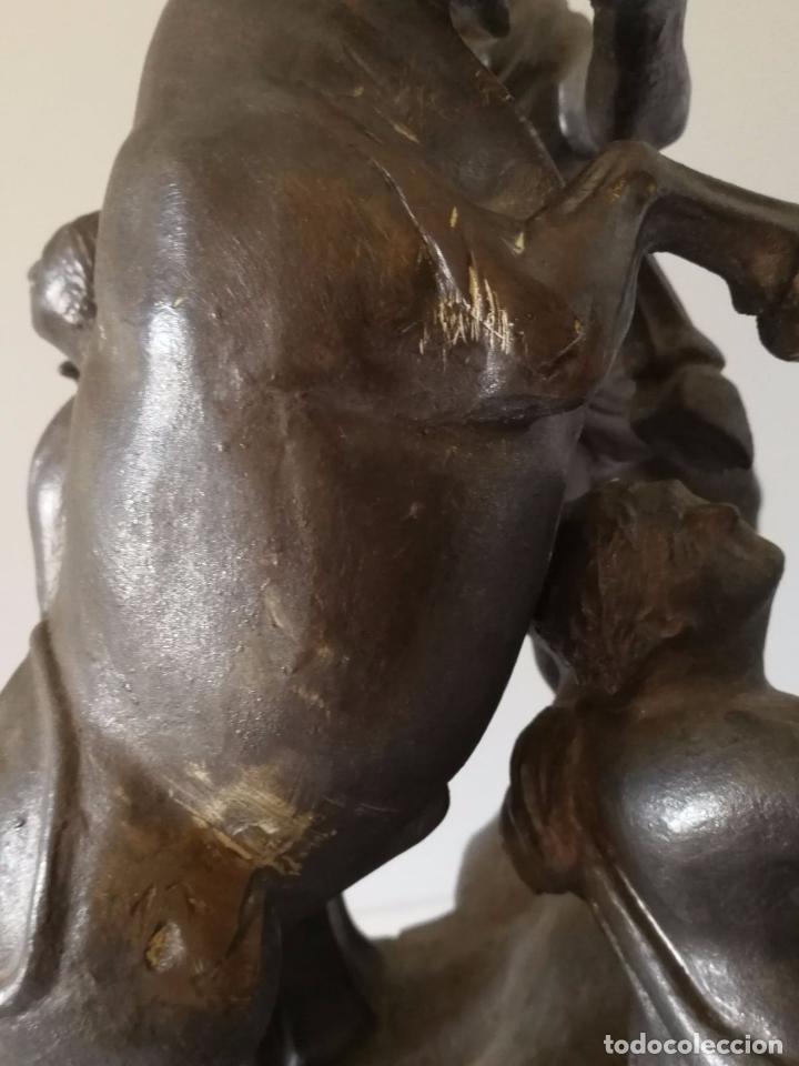 Antigüedades: Toro Farnesio - Alcora - Espectacular Grupo escultórico - Foto 6 - 102106463