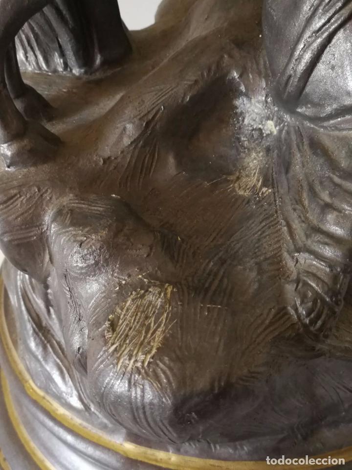 Antigüedades: Toro Farnesio - Alcora - Espectacular Grupo escultórico - Foto 7 - 102106463