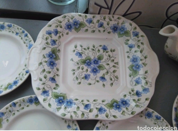 Antigüedades: Vajilla café 40 piezas cartuja pickman perfecto estado - Foto 3 - 102141771