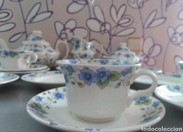 Antigüedades: Vajilla café 40 piezas cartuja pickman perfecto estado - Foto 5 - 102141771