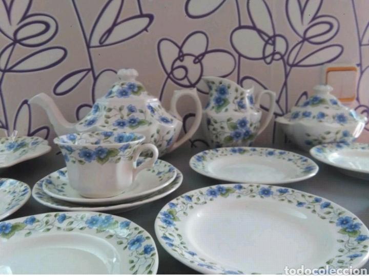 Antigüedades: Vajilla café 40 piezas cartuja pickman perfecto estado - Foto 7 - 102141771