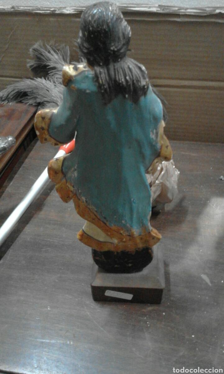 Antigüedades: talla virjen - Foto 2 - 52405738