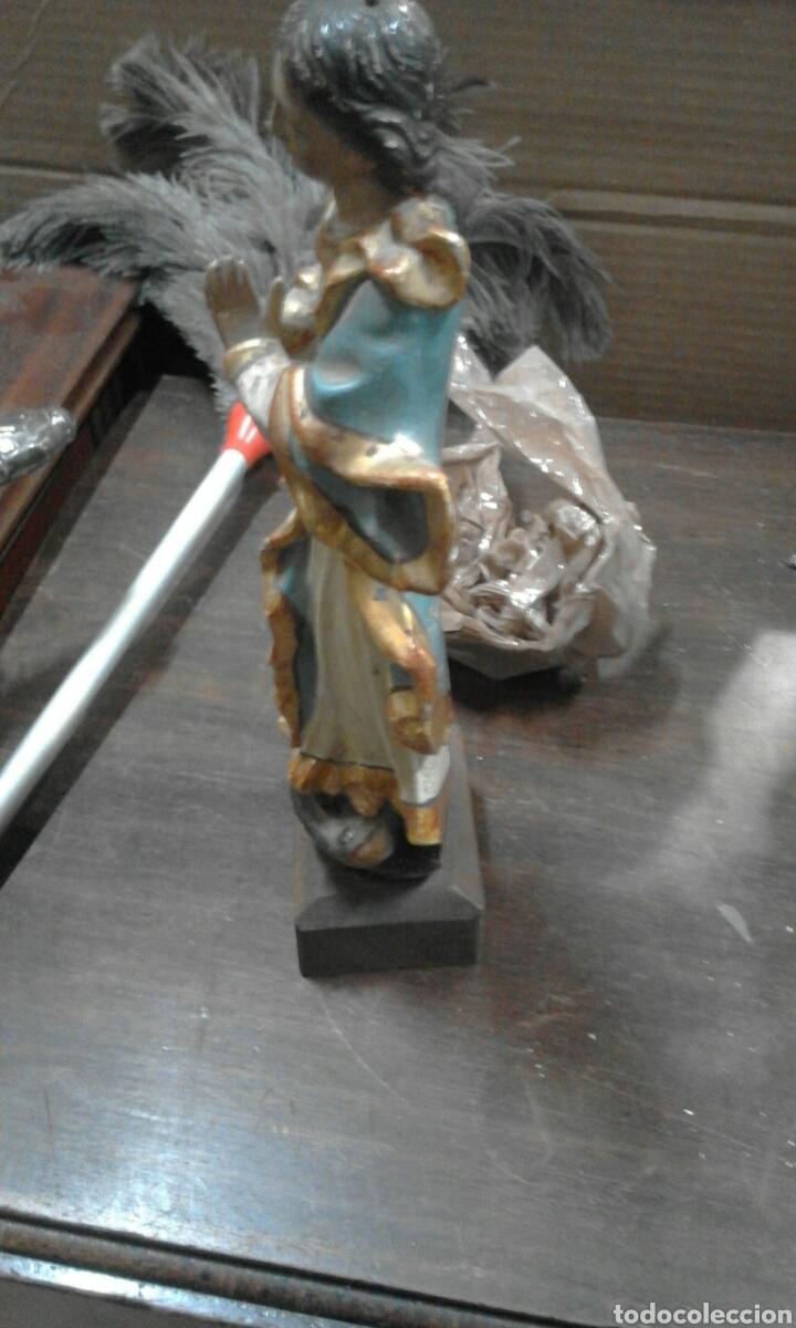 Antigüedades: talla virjen - Foto 3 - 52405738
