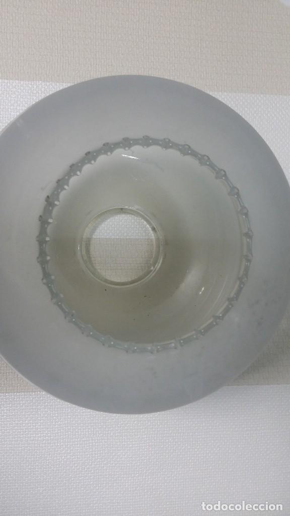 TULIPA CRISTAL (Antigüedades - Iluminación - Lámparas Antiguas)