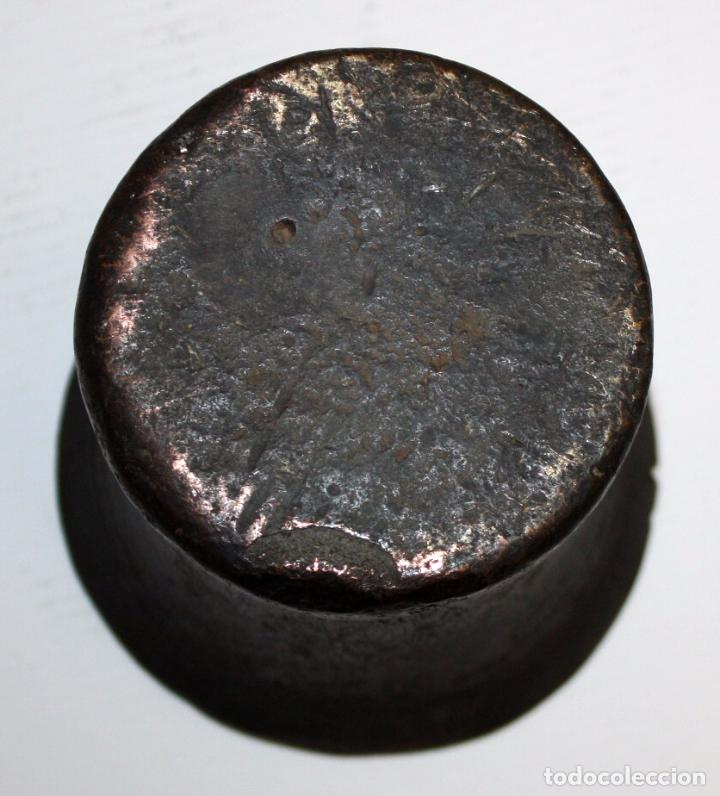 Antigüedades: ANTIGUO ALMIREZ DEL SIGLO XVII. MORTERO - Foto 6 - 102169443