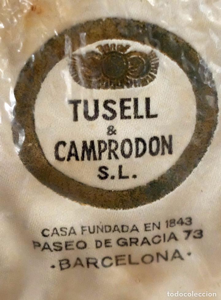 Antigüedades: SOMBRERO TIPO BORSALINO EN FIELTRO PARA CABALLERO. MARCA TUSELL & CAMPRODON. CIRCA 1940 - Foto 5 - 160920512