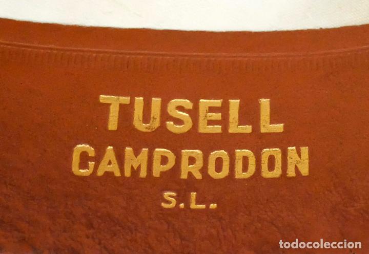 Antigüedades: SOMBRERO TIPO BORSALINO EN FIELTRO PARA CABALLERO. MARCA TUSELL & CAMPRODON. CIRCA 1940 - Foto 6 - 160920512