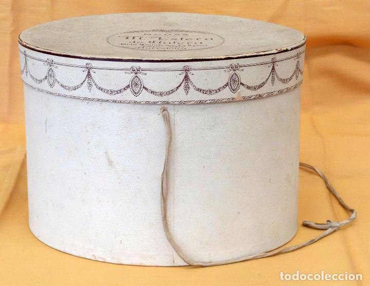 Antigüedades: SOMBRERO TIPO BORSALINO PARA CABALLERO DE PRINCIPIOS DEL SIGLO XX DE LA CASA LLORENS DE BARCELONA - Foto 2 - 142747866