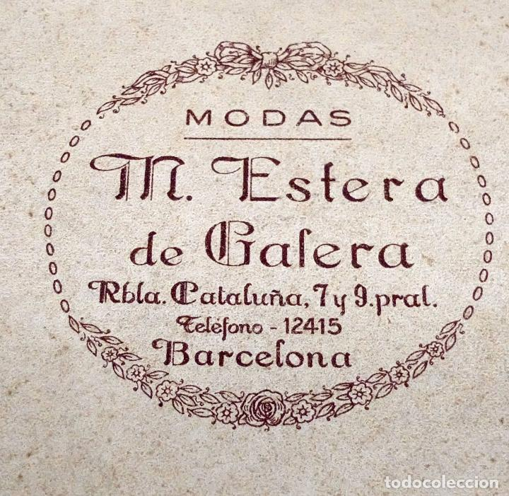 Antigüedades: SOMBRERO TIPO BORSALINO PARA CABALLERO DE PRINCIPIOS DEL SIGLO XX DE LA CASA LLORENS DE BARCELONA - Foto 3 - 142747866