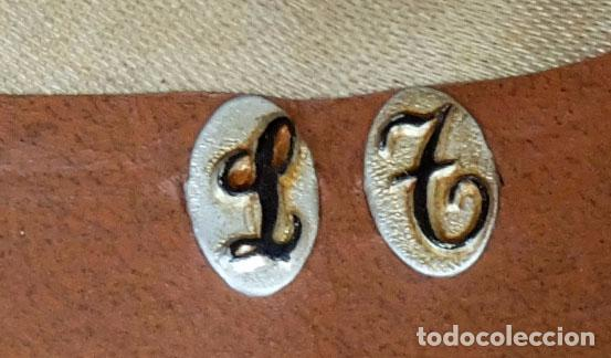 Antigüedades: SOMBRERO TIPO BORSALINO PARA CABALLERO DE PRINCIPIOS DEL SIGLO XX DE LA CASA LLORENS DE BARCELONA - Foto 9 - 142747866