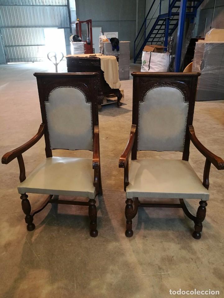 Conjunto comedor mesa sillas comoda aparador vi comprar for Sillas comedor antiguas